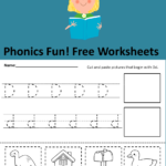 Free Phonics Worksheets - The Letter Dd:
