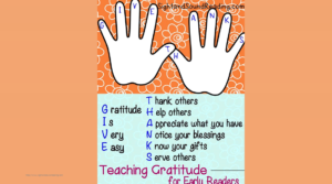 Teaching Gratitude: Activity and free worksheets to help teach gratitude to your little ones.