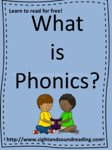 What is phonics? For the answer, and phonics worksheets and videos, visit https://dev.sightandsoundreading.com///newsite