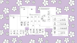 Free Digraph Worksheets: Fun free packet to help you teach digraphs!