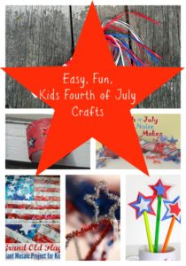 Easy and Fun Kids Fourth of July Crafts