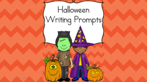 Halloween Writing Prompts: Modified to work with kindergarten, first or second grade, these writing prompts will have yours students thinking and writing Halloween. Boo!