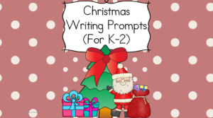 Christmas Writing Prompts - Modified to work for Kindergarten through 2nd grade, this 60+ page packet will have your students thinking and writing about Christmas.