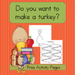 Do you want to make a Turkey? This fun and easy turkey craft is great structured fun for preschool through 1st grade.