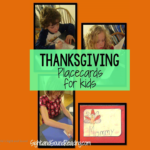 Printable Thanksgiving Place Cards For Kids - Have your children help you set the table by making these fun place cards perfect for Turkey Day