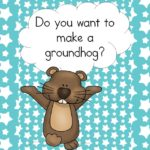 Do you want to make a Groundhog? Fun Craft for Groundhog's Day!