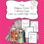 Religious Easter Coloring Pages - Help your child learn about Easter with these Religious Easter Coloring Pages