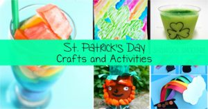 St. Patrick's Day Kids Crafts - Easy, fun, ... great for St. Patrick's Day!