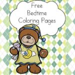 Free Bedtime Coloring Pages with recommendations for children bedtime books