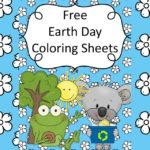 Free Earth Day Coloring Sheets - Great for preschool or kindergarten