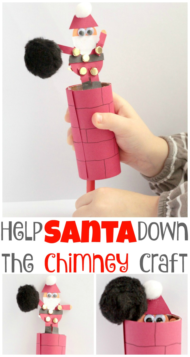 Santa Crafts for Kids - See these cute and easy craft ideas that kids will love to make! Great for preschool, kindergarten and beyond!