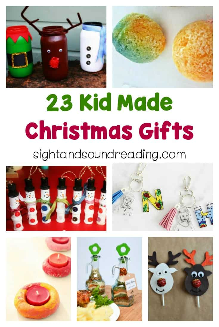 Today, I would liketo share some easy kid made gift ideas to help you and kids in the holiday seasons. Be inspired to make others happy.