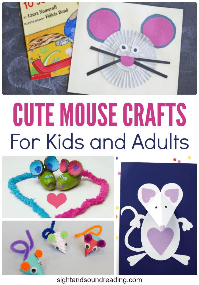 Most people don't like the real-life mice. I am also scared of them. However, there are a lot of cartoon and imaginative mice you can adore a lot. Today I would like to share Cute Mouse Crafts for Kids and Adults