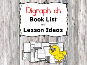 Teaching the digraph ch? Include some books include digraph ch sound. Here is the digraph Ch book list to teach the digraph ch sound.