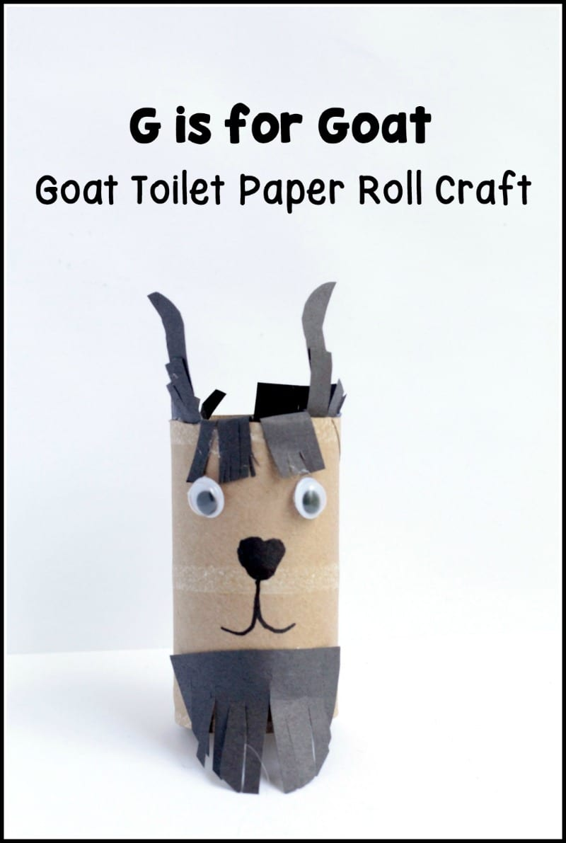 Use this cardboard tube Soft G Giraffe craft when teaching kids about the hard G letter sound. This Hard letter G craft is cute, easy & fun.