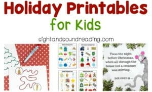 In the middle of holiday preparation, Helps from the holiday Printables for Kids will be great for either kids, teachers, or parents.