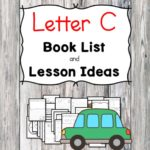 Teaching the letter C? Include some books include letter C sound. Here is the Letter C book list to teach the letter C sound.