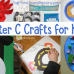 Letter C Crafts for preschool or kindergarten - Fun, easy and educational!