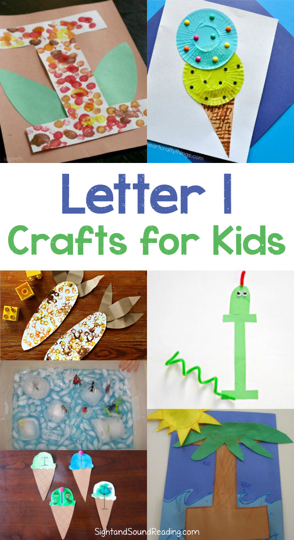 Letter I Crafts for preschool or kindergarten - Fun, easy and educational!