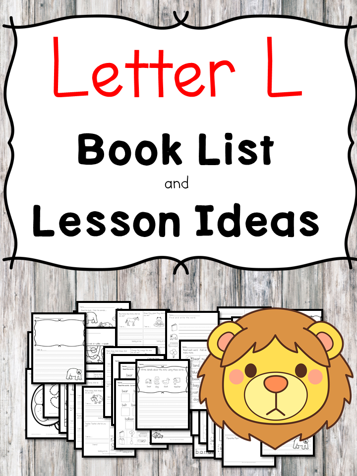 Teaching the letter L? Include some books include letter L sound. Here is the Letter L book list to teach the letter L sound.