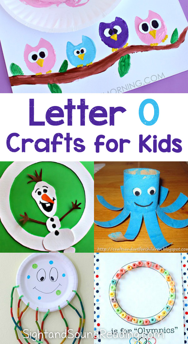 Letter O Crafts for preschool or kindergarten - Fun, easy and educational!