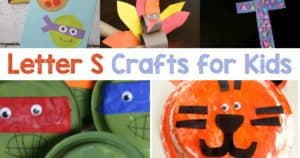 Letter S Crafts for preschool or kindergarten - Fun, easy and educational!