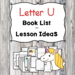 Teaching the letter U? Include some books include letter U sound. Here is the Letter U book list to teach the letter U sound.