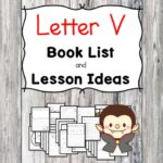 Teaching the letter V? Include some books include letter V sound. Here is the Letter U book list to teach the letter V sound.