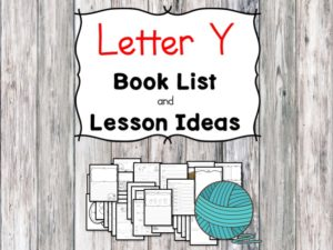 Teaching the letter Y? Include some books include letter Y sound. Here is the Letter Y book list to teach the letter Y sound.