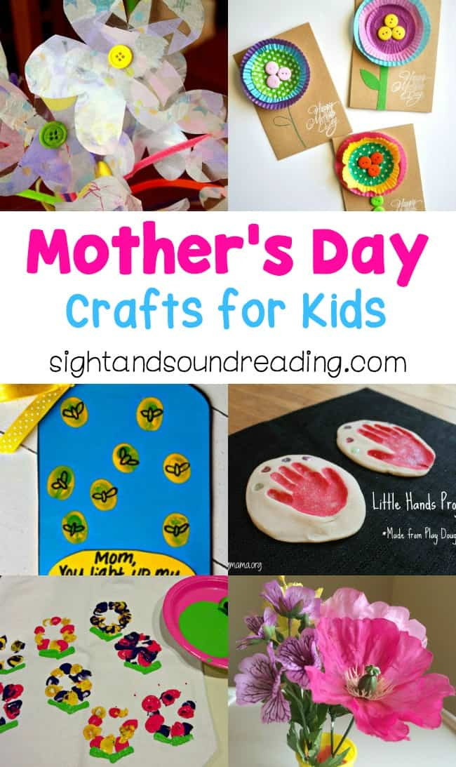 some crafts with Mother's day theme will show sincerity and more work to express love and thankfulness. Today I would like to share some Mother's Day Crafts for Kids to give more inspiration in welcoming the holiday.