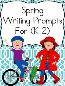 St. Patrick's Day Writing Prompts for Kindergarten, first of second grade.