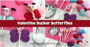 We are getting close to the Valentine's Day. Some cute valentine sucker butterflies will certainly make your day.