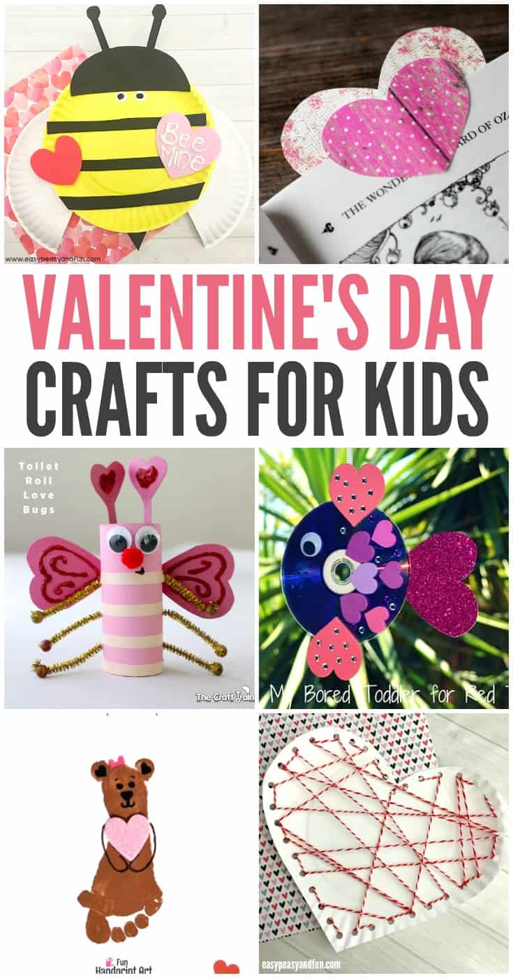 With the Valentines Day just around the corner, it would be the perfect time to share some amazing ideas for Valentine's Day crafts for kids.