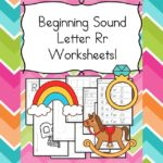 Free Beginning Sounds Letter R worksheets to help you teach the letter R and the sound it makes to preschool or kindergarten students.