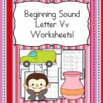 Free Beginning Sounds Letter V worksheets to help you teach the letter V and the sound it makes to preschool or kindergarten students.