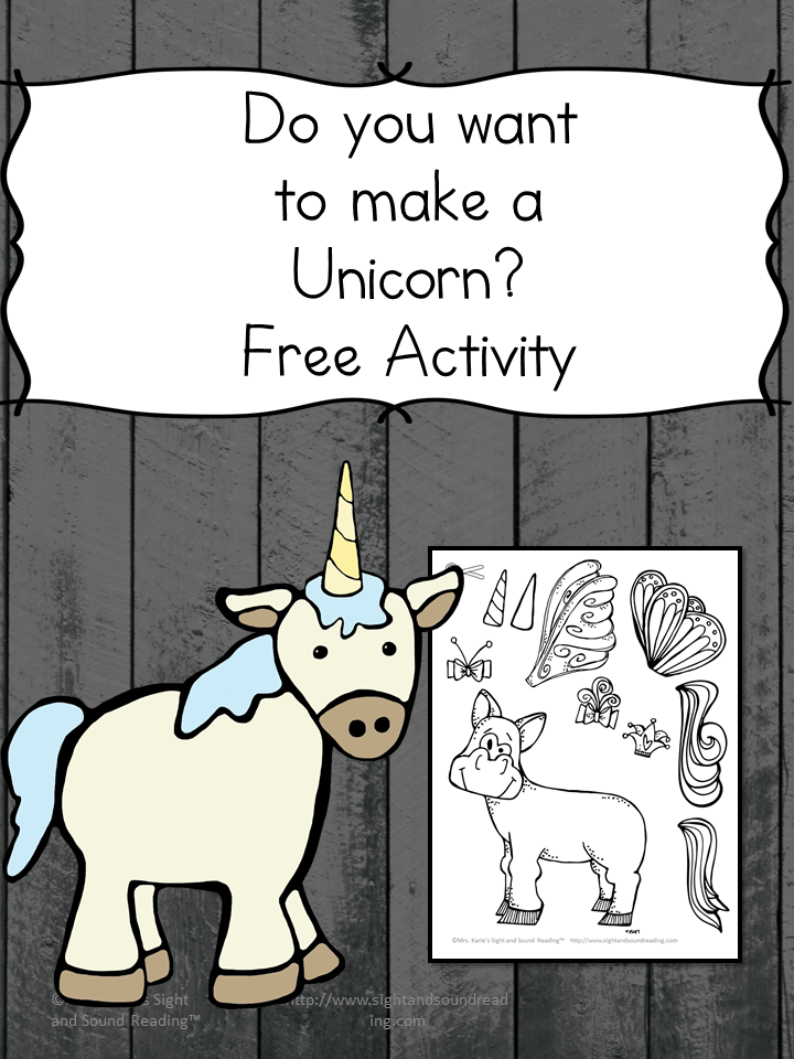 Do you want to make a unicorn? Cute and fun craft for preschool or kindergarten -great for teaching the letter u!
