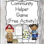 Fun Community Helper game! Actually, this is 2 games in one... there is a matching game, and then a game that reinforces sounds/sight words/letters/math, etc. Great for preschool or kindergarten!