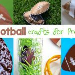 Are you ready for some football? Here are some fun, free and easy Kindergarten Football Crafts to help make learning fun using a football theme.