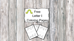 Letter I Coloring Pages -Free letter Coloring Pages for Preschool or Kindergarten
