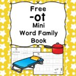 Teach the ot word family using these ot cvc word family worksheets. Students make a mini-book with different words that end in 'ot'. Cut/Paste/Tracing Fun