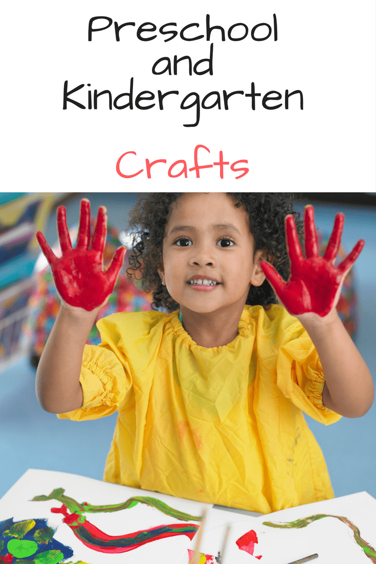 Preschool and Kindergarten crafts for holidays, letters, books and more. Make learning fun!