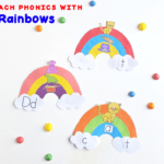Have fun and teach phonics with cute and easy rainbow word families. You will receive a free and easy download template for your rainbow to make this craft an easy success.