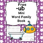 Teach the ub word family using these ub cvc word family worksheets. Students make a mini-book with different words that end in 'ub'. Cut/Paste/Tracing Fun